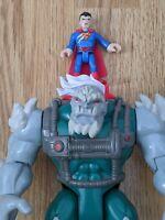 Imaginext Doomsday with battle damaged Superman Figure Bundle