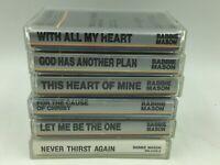 Babbie Mason Gospel Christian Accompany Music Songs LOT of 6 Audio Cassettes