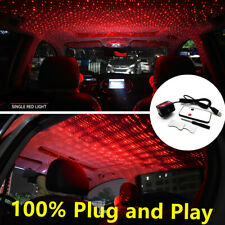 1PC 360° For Car USB Ceiling Star Light LED Atmosphere Projector Armrest Box