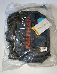 Nathan Trail Mix 7L Running Vest Hydration Pack Backpack Grey/Cherry Tomato  NEW