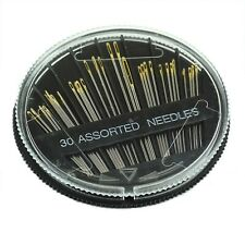 30pcs Assorted Hand Sewing Needles Needle Sew Embroidery Mending Craft Case