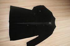 schwarzer Wollmantel von Marc Aurel Gr. M schwarz