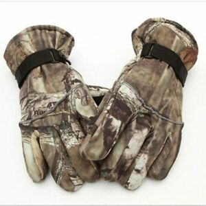 Glove Finger Full Warm Anti-slip Tactical Fishing Cycling Bike Camouflage Fabric