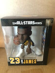 "Lebron James Los Angeles Lakers smALL-ALLSTARS 6"" Mini Figure NIB IN STOCK"