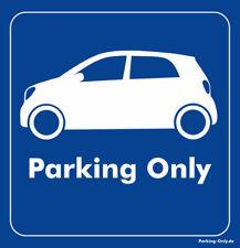 Parking Only - Smart ForFour MK2 - Aufkleber