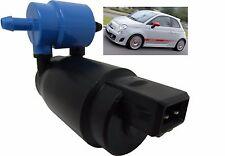 Front & Rear Windscreen Washer Pump Fiat 500 2007 > 2013