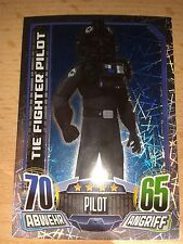 Force Attax Star Wars Rebels Glitzerkarte Nr.166 Tie Fighter Pliot Sammelkarte