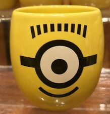 Universal Studios Ceramic Shot Glass Cyclops Minion Despicable Me New