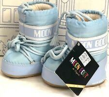 New Tecnica Moon Boot Light Blue Shoes Baby Toddler 19/ 22 US 3 4 5 6 Snow Boots