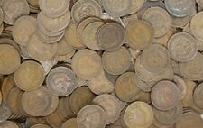 One 50c Indian Head Penny Cent Roll IHC 1859/1909 Pennies Old Original Bank Roll