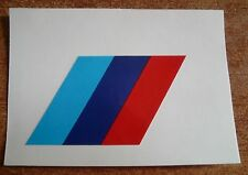 BMW M5 M3 emblem badge sticker rear E24 E28 E30 E34 E36 E39 E60