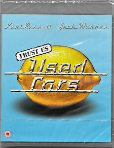 Robert Zemeckis': Used Cars Blu Ray(Kurt Russell) Reg/B Includes Registered Post