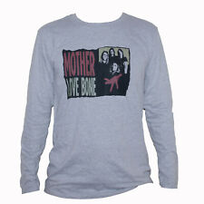 Mother Love Bone Alternative Metal Grunge Music Hand T shirt Long Sleeve Grey