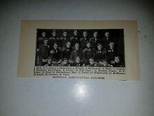 Michigan State University 1904 Football Team Picture VERY RARE!