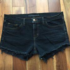 J Brand Black Denim Cut Off Shorts, size 30