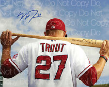 Mike Trout signed Los Angeles Angels 8X10 photo picture poster autograph RP