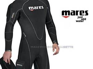 Wetsuit Diving 0 1/4in Semidry MARES Flexa Therm 7 Xxlarge