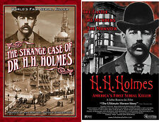Serial Killer H. H. Holmes DVD AND BOOK COMBO  -FREE SHIPPING
