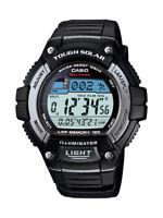 Casio Men's Tough Solar Illuminator Black Resin Band 50mm Watch WS220-1A