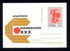 POLAND - POLONIA - Cart. Post. - Mostra a Varsavia. E4983