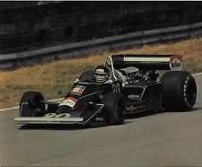 JACKY ICKX WOLF F1 BRITISH GRAND PRIX 1976 ORIGINAL PERIOD PHOTOGRAPH FOTO