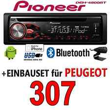 PEUGEOT 307 - PIONERO AUTORRADIO BLUETOOTH USB CD MP3 BT IPHONE RADIO -