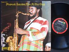 PHAROAH SANDERS Live At The East LP IMPULSE AS-9227 Cecil McBee Stanley Clarke