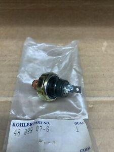 KOHLER PART # 48 099 07-S SWITCH, OIL PRESSURE
