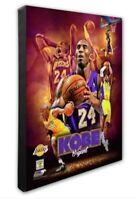 Los Angeles Lakers Kobe Bryant 16x20 Photo Poster Picture framed Collage Canvas