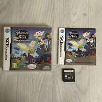 Phineas and Ferb: Across the 2nd Dimension (Nintendo DS, 2011) Complete, Tested