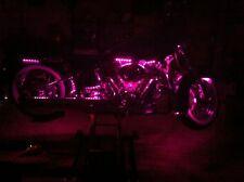 "HONDA PINK MOTORCYCLE 12"" 5050 SMD LED STRIPS TOTAL OF 24 LEDS"