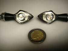 4X LED BLACK NANO BLINKERS BMW R100/CS/RT,R1100S,all modelsTwin,K1200R,R100,K75