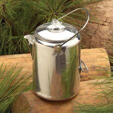 Texsport Aluminum 9-Cup Coffee Pot Percolator Camping