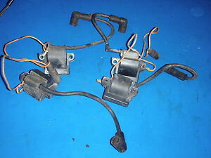 JOHNSON 84 HP V4 1980 COILS(TWO HAVE DAMAGE)