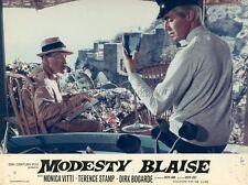 DIRK BOGARDE   MODESTY BLAISE 1966 VINTAGE LOBBY CARD #5