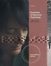 NEW Essentials of Abnormal Psychology 6E + CourseMate Code Barlow 6th Edition