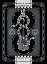 The Avett Brothers 8/29/2014 Poster Las Vegas N1 Signed & Numbered #/200 Metalic