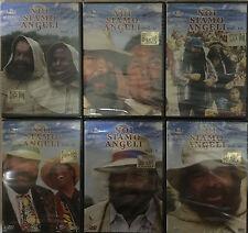 Lotto Stock 6 DVD **NOI SIAMO ANGELI** serie completa con Bud Spencer nuovo