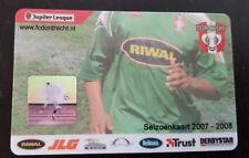 Sammler unused Seizoen Club Card FC Dordrecht 2007-2008