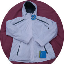 Columbia Women Winter Blazing Star 3in1 Snow Ski Jacket Coat Parka White Large L