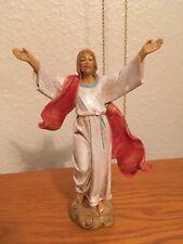 7� Risen Jesus Christ Statue Fontanini Depose Italy Simonetti 1985