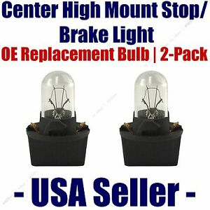 Center High Mount Stop/Brake Bulb 2-pack fits Listed Saturn Vehicles - PC168