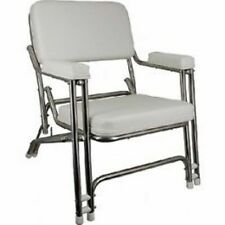 "Springfield Marine Classic Folding Deck Chair 24x30.5""x25"" Marine 1080021SS LC"