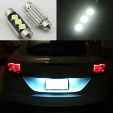 2x 36mm 5050 SMD 6418 6411 Festoon Error Free License Plate Led Light Bulb White