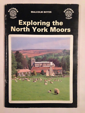 YORKSHIRE EXPLORING THE NORTH YORK MOORS 1986 TOUR GUIDE PAPERBACK BOOK 48 PAGES