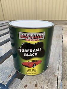 Septone Subframe Black 4lt