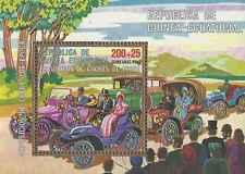 Timbre Voitures Guinée équatoriale o lot 6324