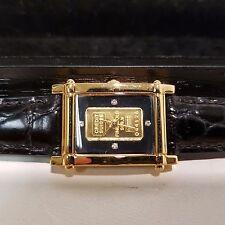 Yves Camani El Dorado vergoldete Armbanduhr