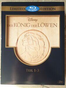 König der Löwen 1 - 3  Limited Edition in Holzbox Neuwertig