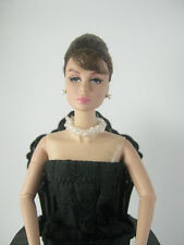 White pearl Necklace for Barbie,Poppy Parker,Fashion Royalty or similar dolls--
